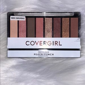 NWT CoverGirl Peach Punch Eyeshadow Palette
